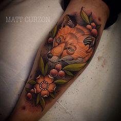 Tattoo done by Matt Curzon