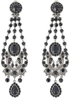 Givenchy Victorian chandelier earrings - $915.00
