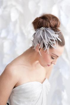 Latest Design Fashionable Feathered Headpiece Bridal Veil Hats ...