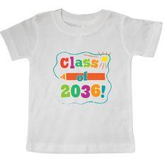 inktastic Class of 2036 School Graduation Infant Creeper