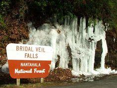 Bridal Veil Falls  Highlands, NC