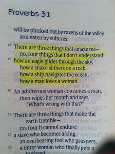 Proverbs 30:18-19