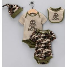 yup when we have babies I know he and even she (hopefully pink) will be wearing this one day lol
