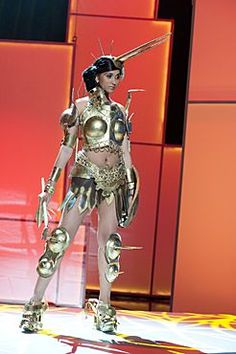 National Costume: Miss Universe Tanzania 2011