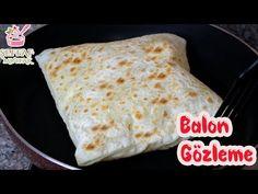 EL AÇMASI BALON GÖZLEME 🤗 HAMUR AÇMAKTAN GÖZÜ KORKANLARA GELSİN🤓 - YouTube Soap Recipes, Cooking Recipes, Waffle, Food And Drink, Pizza, Bread, Ethnic Recipes, Desserts, Youtube