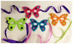 Butterfly Princess Mask. $9.00, via Etsy.