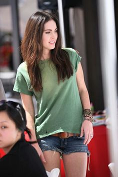 Megan Fox casual outfit look on point