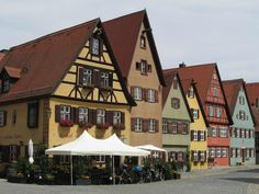 Old Town (worth a stop) - Dinkelsbuhl, Germany