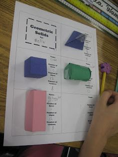 Third Grade Thinkers: Geometry Testing Review: Treat or Torture?