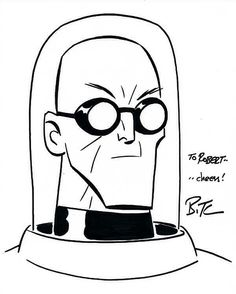 Mr Freeze Sketch by Bruce Timm