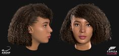 A selection of the driver heads and hairstyles we worked on during the production of Forza Horizon The title was extremely well received winning the award for Best Sports/Racing Game at the Game Awards and received a 91 on Metacritic. Forza Horizon 3, Hair Reference, Lady, Hair Styles, Image, Game Character, Awards, Racing, Tutorials