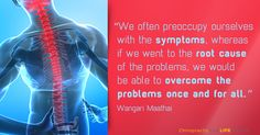 Others treat symptoms. We correct causes!