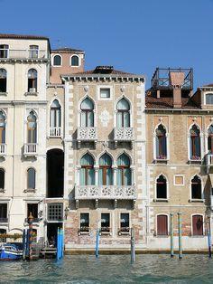 Palazzo Contarini Fasan, on the Grand Canal by suzigun, via Flickr