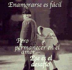 Enamorarse es fácil...
