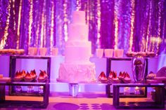 One of five custom designed cakes for a 16ft dessert bar.  Design by Alchemy Fine Events, Cake by Sweet & Saucy Shop