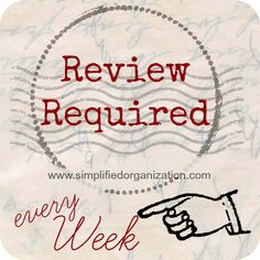 Regular review is the absolute key to maintaining a sense of organization. You have to look at your lists to make them happen, and that looking over is called a review. We've already discussed a morning review and an evening review, but the weekly review is where the magic starts happening. It is a little …