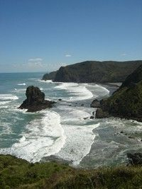 The Anawhata Reserve in West Auckland spans of steep coastal forest in various stages of regeneration. Nz History, Kiwiana, Auckland, Schmidt, Scientists, Road Trips, New Zealand, Coastal, University