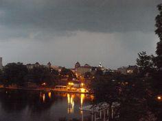 lightning storm in July 2012