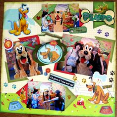 Disney Scrapbook Page Layouts | Layout: FIRST TRIP TO DISNEY WORLD (OCTOBER 2011) - PAGE 43