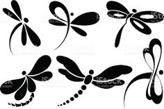 Dragonfly clip art images and royalty free illustrations available to search from thousands of EPS vector clipart and stock art producers. Dragonfly Painting, Dragonfly Art, Dragonfly Tattoo, Tiny Butterfly Tattoo, Butterfly Clip Art, Dragonfly Silhouette, Silhouette Clip Art, Body Art Tattoos, Tatoos