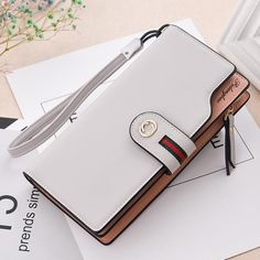 Pu Leather Women'S Wallet Female Wallet Card Holder Purse For Women Portefeuille Cartera Mujer - PU Leather Women's Wallet Female wallet card Holder purse for women portefeuille cartera mujer femme carteira feminina Source by Popular Handbags, Cute Handbags, Handbags On Sale, Purses And Handbags, Fashion Handbags, Cheap Handbags, Luxury Handbags, Spring Handbags, Hobo Handbags