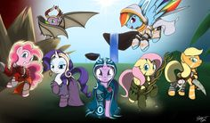 My Little Pony: The Gathering.