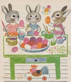 About Easter, Easter Tree, Easter 2020, Bunny Art, Vintage Easter, Egg Hunt, Illustrations And Posters, Origami, Preschool
