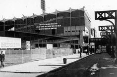 Outside the Polo Grounds