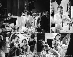 Wedding Breakfast in the Great Hall of Durham Castle.  Durham wedding photography by wedding photographers www.2tonephotography.co.uk