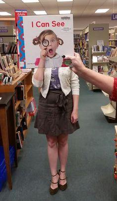 I Can See  /  Book Faces @ Calvert Library