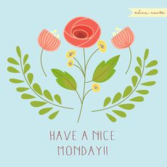 Have a nice Monday!! #Inkpad