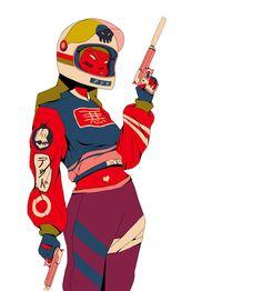 Mau Lencinas - 90's Hip Hop Style Meets Anime