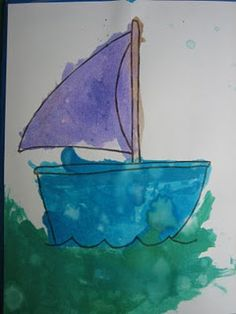 His Wonderful Works - My Blue Boat Lapbook
