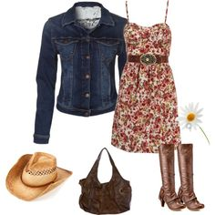 """""""Kick up those western heels"""" by stefani-nelson on Polyvore"""