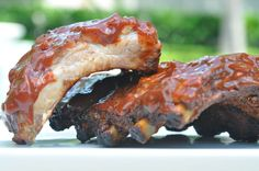 Baby Back Ribs in Chipotle Barbecue Sauce -Sweet and spicy, finger-licking good chipolte BBQ sauce make these ribs extra flavorful. Dark brown sugar and spicy peppers are the secret to this tangy BBQ sauce recipe.