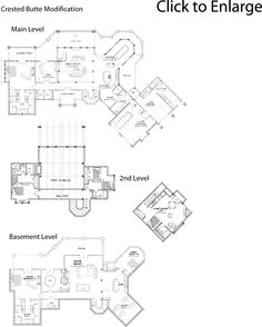This is the floor plan for the Crested Butte Log Home I want to build