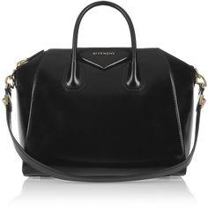 Givenchy Medium Antigona Bag in Black Leather