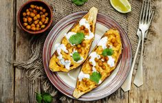 2. Tex-Mex sweet potatoes http://www.prevention.com/food/meatless-meal-ideas/slide/2