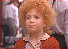 Annie! I used to want to be her and would run around screaming the songs as loud as I could.