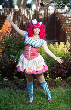 Gala Pinkie Pie (From: My Little Pony Friendship is Magic) @Kaitlyn Paige Williams you should do this!