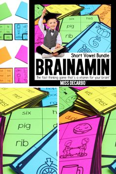 Brainamin - A fast-paced phonics game that boosts phonics and thinking skills - by Miss DeCarbo
