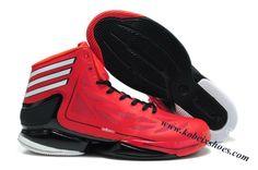 online retailer 1de43 c1dbc Adidas Adizero Crazy Light 2 Derrick Rose Shoes Red Black Top 10 Basketball  Shoes, Derrick