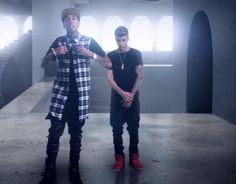 Tyga and Justin Bieber