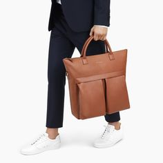 WANT Les Essentiels O'Hare II leather tote