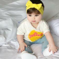 Cute Baby Girl Photos, Cute Baby Pictures, Cute Kids, Cute Babies, Baby Kids, Beautiful Children, Beautiful Babies, Cute Baby Wallpaper, Little Princess