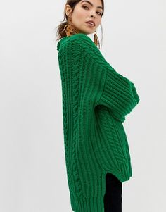 9e4731b983 Whistles Limited chunky cable knit sweater