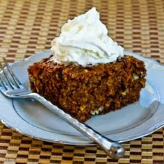 Whole Wheat and Oatmeal Spice Cake with Fuyu Persimmon Recipe