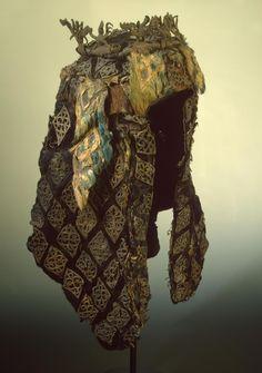 Headdress  Pazyryk Culture. 5th century BC  Found: Altai Territory, Pazyryk Boundary, the Valley of the River Bolshoy Ulagan. Pazyryk Barrow No. 2 (excavations by S.I. Rudenko)  State Hermitage Museum