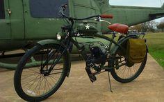 Awesome Motorized Bicycle.