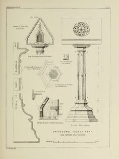 Details of Gothic Architecture [1890] by J.K. Colling